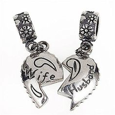 Lover Couple Husband Wife Anniversary Love Charm Bead Fits Pandora Charms *** For more information, visit image link.(This is an Amazon affiliate link and I receive a commission for the sales)