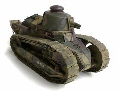The Great Canadian Model Builders Web Page!: Renault FT 17