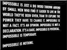 Good philosophy.