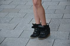 Isabelle Marant Sneakers - Looking comfy - Munich Streetstyle