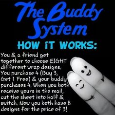 The Buddy System https://www.facebook.com/groups/1498095783808660/