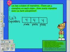 Great video teaching about Singapore Math bar models for multiplication Math In Focus, Math Coach, Eureka Math, Elementary Math, Upper Elementary, Singapore Math, Math Problem Solving, Fourth Grade Math, Math Intervention