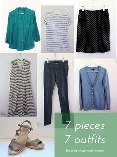 7 Pieces 7 Ways