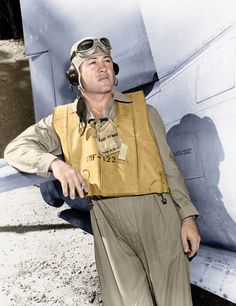 "Gregory ""Pappy"" Boyington VMF-122"