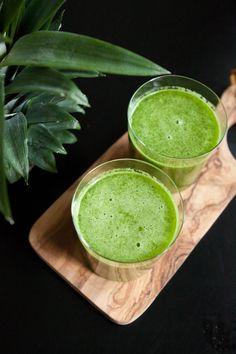 pineapple and kale juice