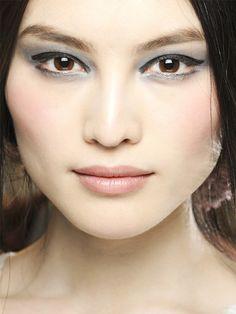 Nude Makeup, Chanel Makeup, Kiss Makeup, Beauty Makeup, Face Beauty, Beauty Box, Runway Hair, Runway Makeup, Blush Rosa