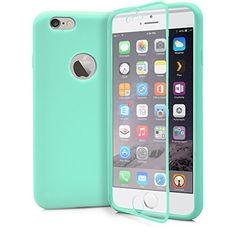 Time to get your summer gadgets! Perfect Turquoise iPhone 6 Plus Case, MagicMobile® Cute Ultra Slim Thin Wrap-Up Dust Resistant Hybrid Fitted Hard TPU Tiffany Blue Protective Full Body Soft Fit Case for Women with Built-In Touch Screen Protector [ Color: Turquoise ] The best deal and idea for gift!