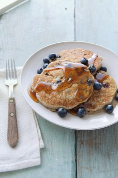 Are you in the mood for pancakes? How about Buckwheat and Blueberry Pancakes? These are via Williams-Sonoma. (Yum!)