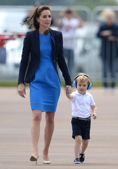Kate Middleton and Prince William are already pregnant with Prince George and Princess Charlotte (Photo: Splash News).