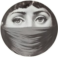"Plate 91 from Piero Fornasetti's ""Theme and Variations"" series"
