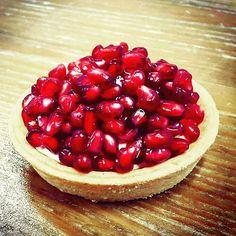 Crispy, pomegranate tart: our favorite fall dessert!