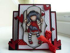Marias Cards: Gorjuss Girl card