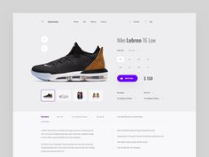 Web Design Product Page by Spline. Design Responsive, Ecommerce Website Design, Website Design Layout, Website Design Inspiration, Responsive Web, Ecommerce App, Ecommerce Store, Web Layout, App Ui
