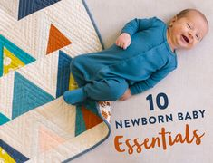 10 newborn baby essentials - the ultimate guide to a basic baby registry Baby Snuggle Blanket, Delivering A Baby, First Time Moms, Baby Wraps, Homemade Baby, Newborn Outfits, Baby Registry, Baby Essentials, Baby Sewing