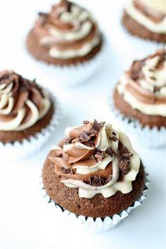 mudslide cupcakes: