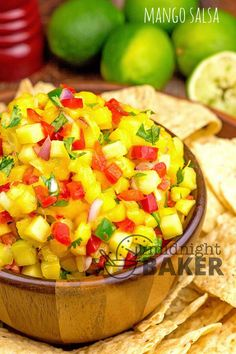 Dress up chicken or fish with this versatile mango salsa. It makes a great dip too! Mango Salsa Is A Versatile Condiment If you are looking to dress up chicken or fish, look no further than this tangy mango salsa! It's the perfect condiment for chicken breast, especially if it's mildly flavored by herbs or...Read More »
