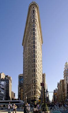 Flatiron Building, NY..when I was younger I used to think it looked like a slice of cake
