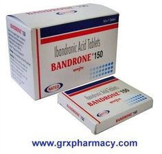 Bandrone 150 (Ibandronic Acid Tablets)    Bandrone (ibandronate) by natco  is generic version of Boniva.form in the group of medicines called bisphosphonates (bis FOS fo nayts). It alters the cycle of bone formation and breakdown in the body. Ibandronate slows bone loss while increasing bone mass, which may prevent bone fractures. $0.10 USD