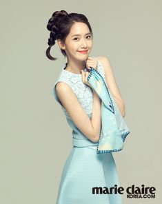 Im Yoona of Girls' Generation #SNSD for Marie Claire