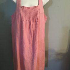 Pink linen sundress Pink linen sundress Dresses Mini