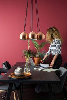 Zuiver hanglamp Multishine - koper