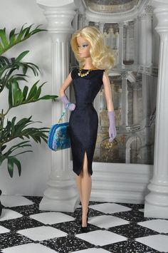 103-4. OOAK outfit 'Time Traveler' for Silkstone and FR dolls by Natalia Sheppard, via Flickr