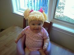 Cabbage Patch Hat....hilarious!!!  I so love this!   # Pin++ for Pinterest #