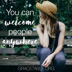 When Practicing Hospitality is Practically Impossible - Christin Ditchfield on GraceTable.org @authorchristin