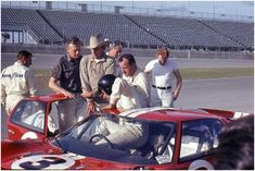 Ford GT40 Mk II of Dan Gurney and A.J. Foyt - Daytona 1967
