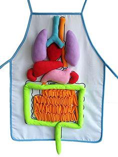 Yoovi What's Inside Me Anatomy Apron Human Body Organs Aw...