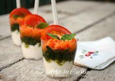 Bicchierini finger food salati ricetta facile