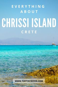 Are you getting ready for a day trip to Chrissi Island, Crete? Check how to get there, what to do and what to see on Chrissi Island.