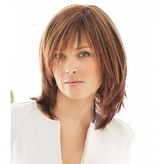 Long Hair with Tapered Sides | ... tapered bangs that blend into long razor cut layers in the sides and