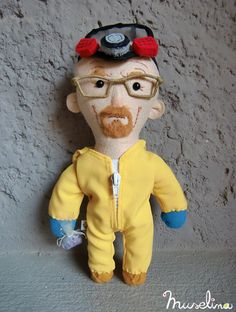 Somewhat creepy. Mostly cool. Breaking Bad Dolls by Wenyuri | Inspiration Grid | Design Inspiration