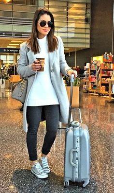 Airport look by Camila Coelho