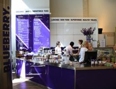 Blueberry butik in NK Gallerian in Stockholm  via Healthaholic