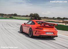 Porsche 911 GT3 2018 poster, #poster, #mousepad, #tshirt, #printcarposter Car Posters, Poster Poster, Porsche 911 Gt3, Phase 2, Manual Transmission, Mousepad, Water, Gripe Water