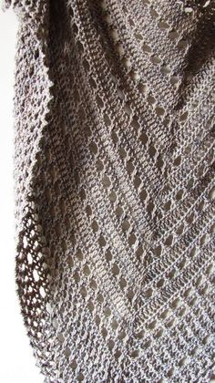 Northern Sea Shawl PDF Crochet Pattern