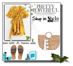 """""""Shein"""" by ajsic ❤ liked on Polyvore featuring JADE TRIBE"""