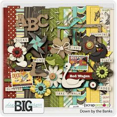 Down by the Banks by Dream Big Designs