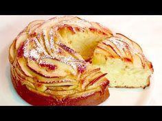 Csak néhány perc erre a gyönyörű és könnyű almás pitére! # 404 - YouTube No Cook Desserts, Sweets Recipes, Apple Recipes, Great Recipes, Cake Recipes, Cooking Recipes, Apple Pie Bread, Apple Cake, Cupcake Cakes