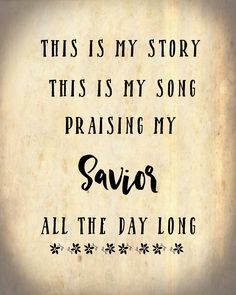 Blessed Assurance Hymn Free Printables Assurance Quotes, Blessed Assurance Hymn, Hymn Quotes, Faith Quotes, Gospel Quotes, Godly Quotes, Christian Song Lyrics, Christian Quotes, Spiritual Songs