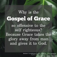 Because Grace takes the glory away from man and gives it to God. Ephesians 2 8 9, Our Savior, Christian Quotes, Jesus Christ, Self, Faith, God, Dios, Christianity Quotes