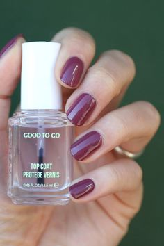 Essie Good To Go : Top Coat Wear Test & Review | Essie Envy