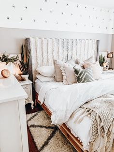 Cute Bedroom Ideas, Cute Room Decor, Room Ideas Bedroom, Home Bedroom, Diy Bedroom Decor, Bedrooms, Aesthetic Room Decor, Dream Rooms, New Room