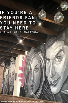 Are you a fan of the TV show Friends? You will love this post in celebration of 25 years of Friends, stay at this Friends themed hostel in KL, Malaysia! I Love My Friends, Friends Tv Show, Travel Goals, Travel Advice, Friend Book, Working Holidays, Great Tv Shows, Beautiful Places In The World, Filming Locations