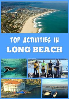 Top fun things to do in Long Beach,California, on vacation - Catalina Island, Aquarium of the Pacific, Waterfront, The Queen Mary, Naples Island, Shoreline Village and more activities and attractions Huntington Beach California, Southern California Beaches, Long Beach California, Anaheim California, California Vacation, Baja Cruise, Long Beach Aquarium, San Diego Beach, Beach Activities