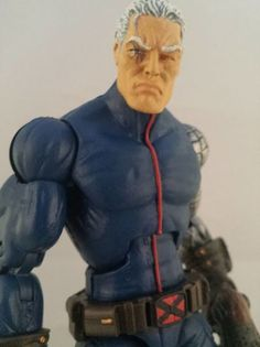Cable (Marvel Legends) Custom Action Figure by TOK3N Base figure: Ultimate Cap upper body and Marvel Now Cap lower body