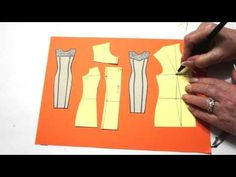 Три кокетки, с разными растворами нагрудных вытачек. Моделирование со Светланой Поярковой - YouTube