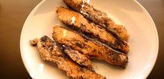 Tagliata di salmone alle erbe aromatiche